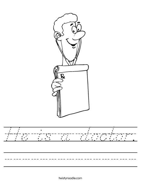 Doctor Worksheet