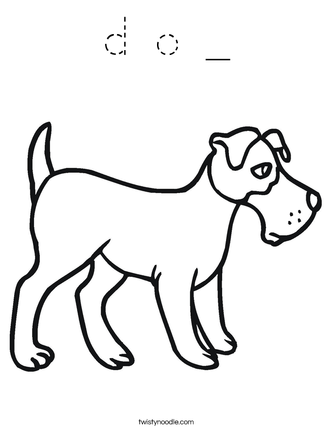 d o _ Coloring Page