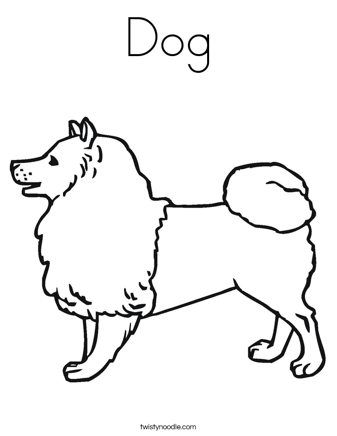 black dogs coloring pages - photo#23