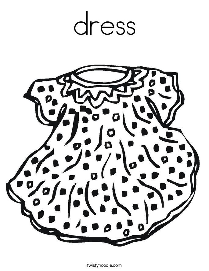 Dress Up Coloring Coloring Coloring Pages