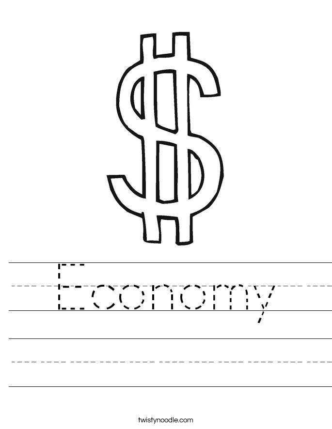 Economy Worksheet
