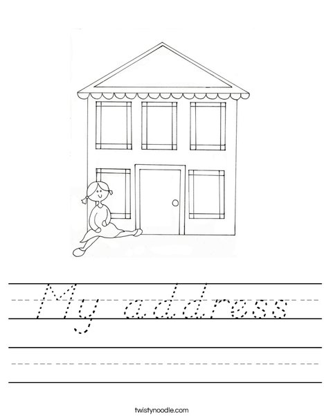 Dollhouse 2 Worksheet