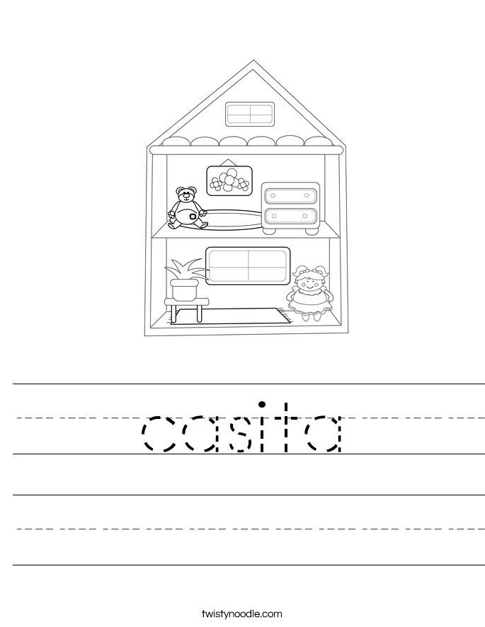 casita Worksheet