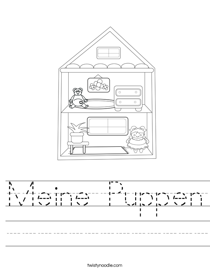 Meine Puppen Worksheet