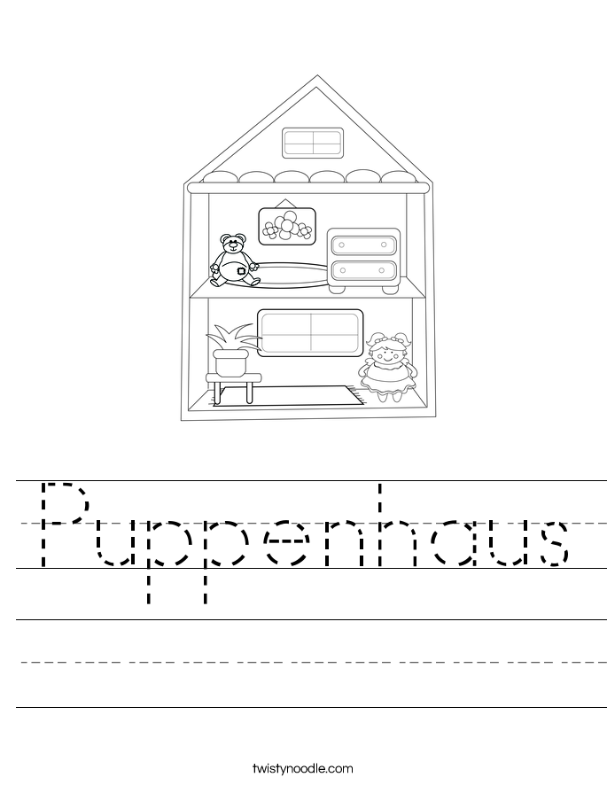 Puppenhaus Worksheet