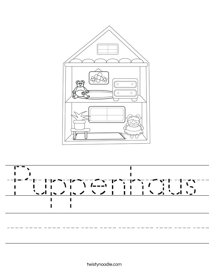 Puppenhaus Worksheet