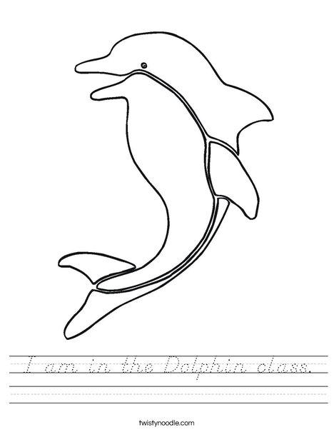 Dolphin Worksheet