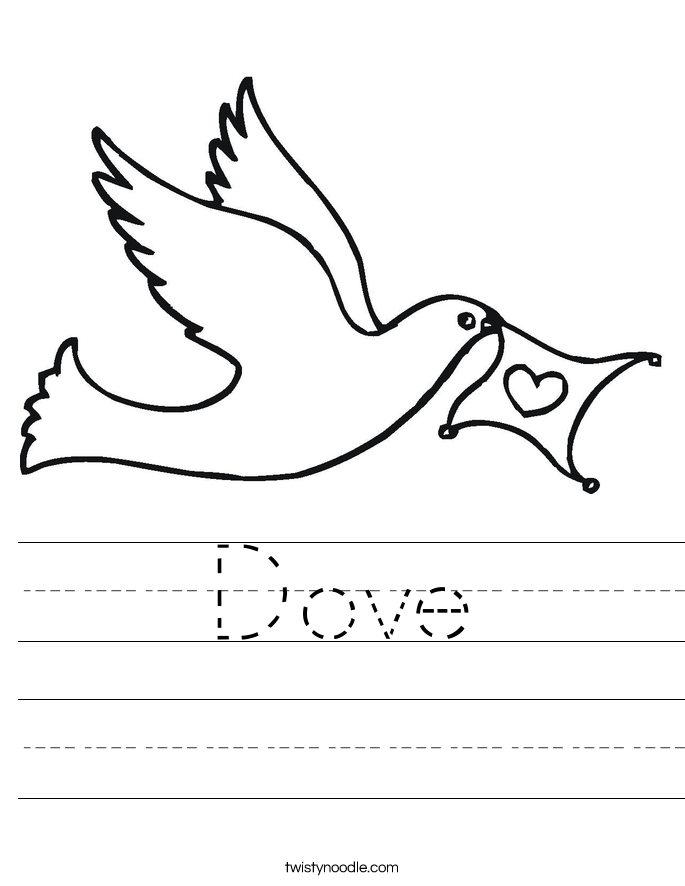 Dove Worksheet