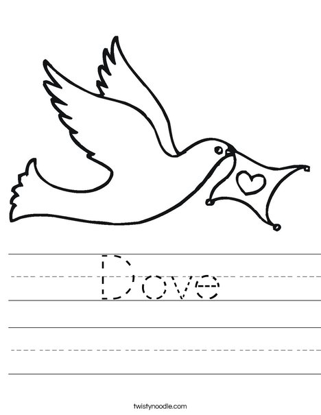 Dove Worksheet