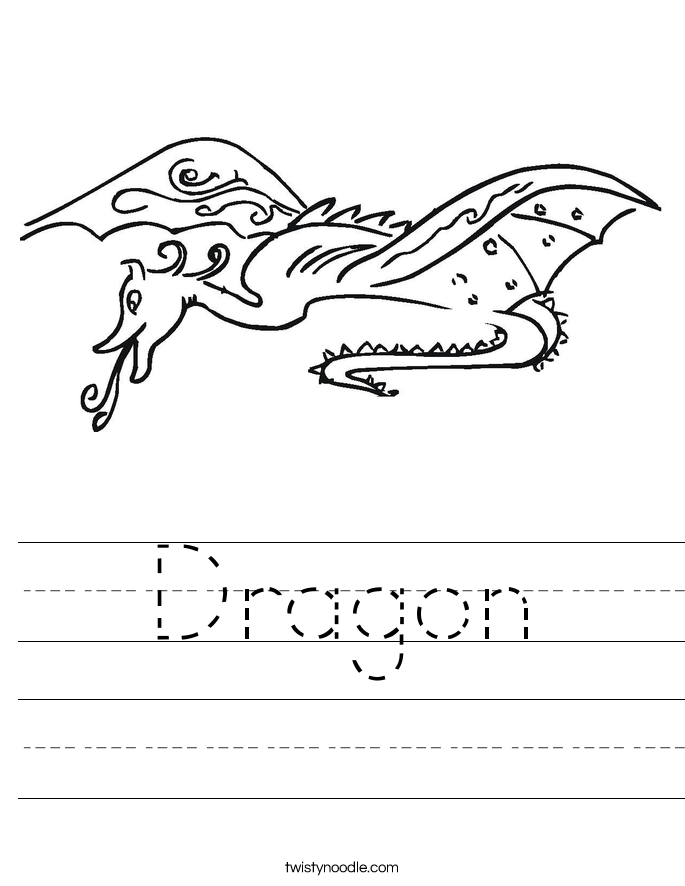 Snapshot image of Count and Color Dragon Spots worksheet | July ...