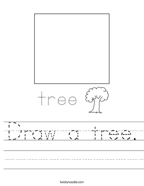 Draw a tree. Worksheet