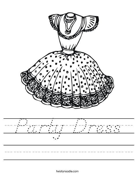 dress4 Worksheet