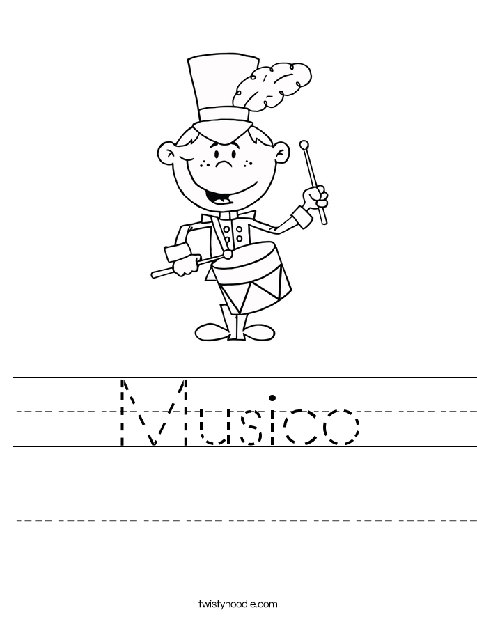 Musico Worksheet