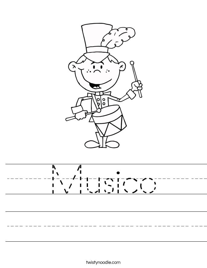 Musico Worksheet
