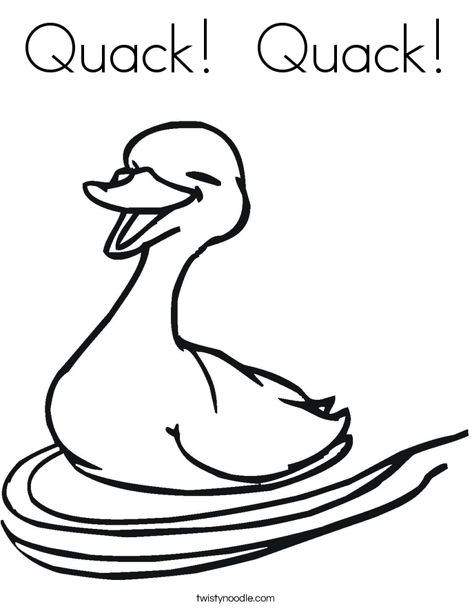 Giggle giggle quack free colouring pages for Little quack coloring pages