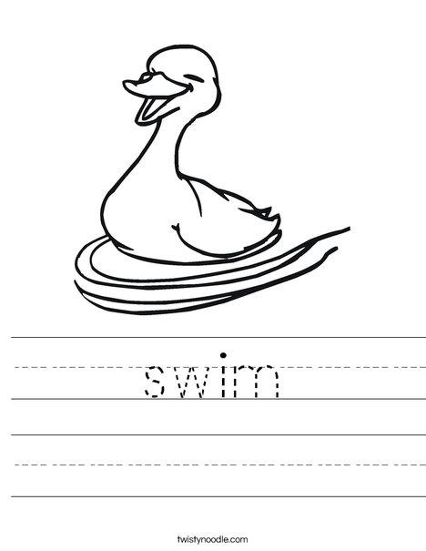What Doesn't Belong: Swimming Pool | Worksheet | Education.com