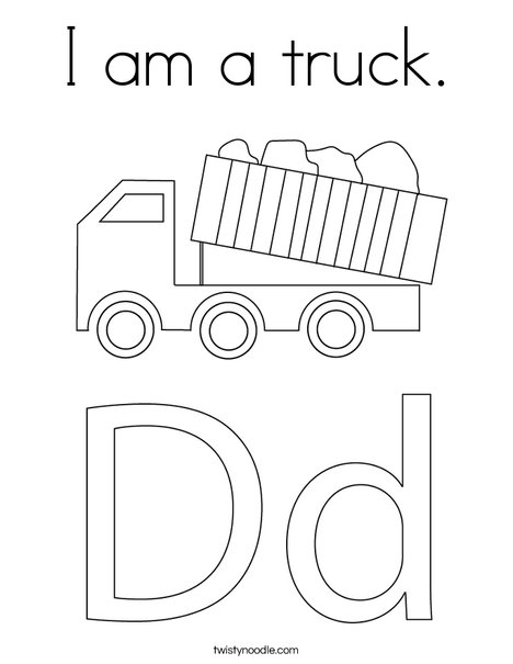 Truck Coloring Pages - GetColoringPages.com | 605x468