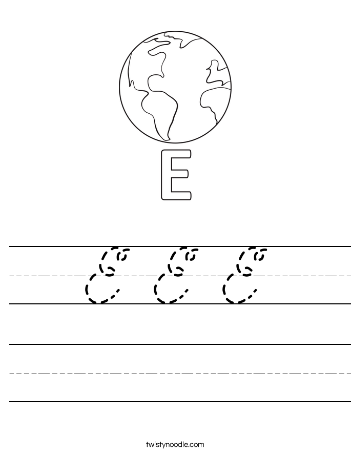 E E E Worksheet