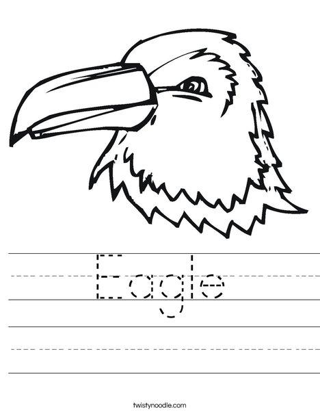 Bald Eagle Dot-to-Dot | Worksheet | Education.com
