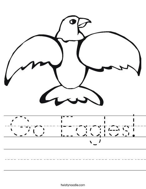 Eagle Worksheet