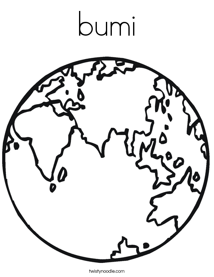bumi Coloring Page