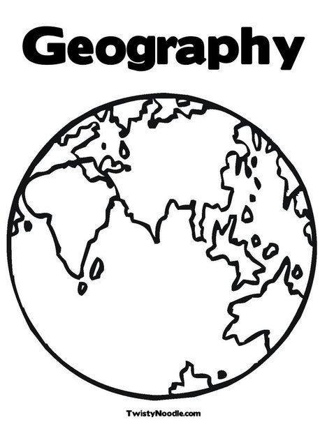 Pin landform coloring pages on pinterest for Geography coloring pages