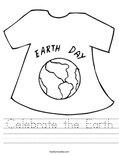 Celebrate the Earth Worksheet