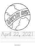 April 22, 2021 Worksheet