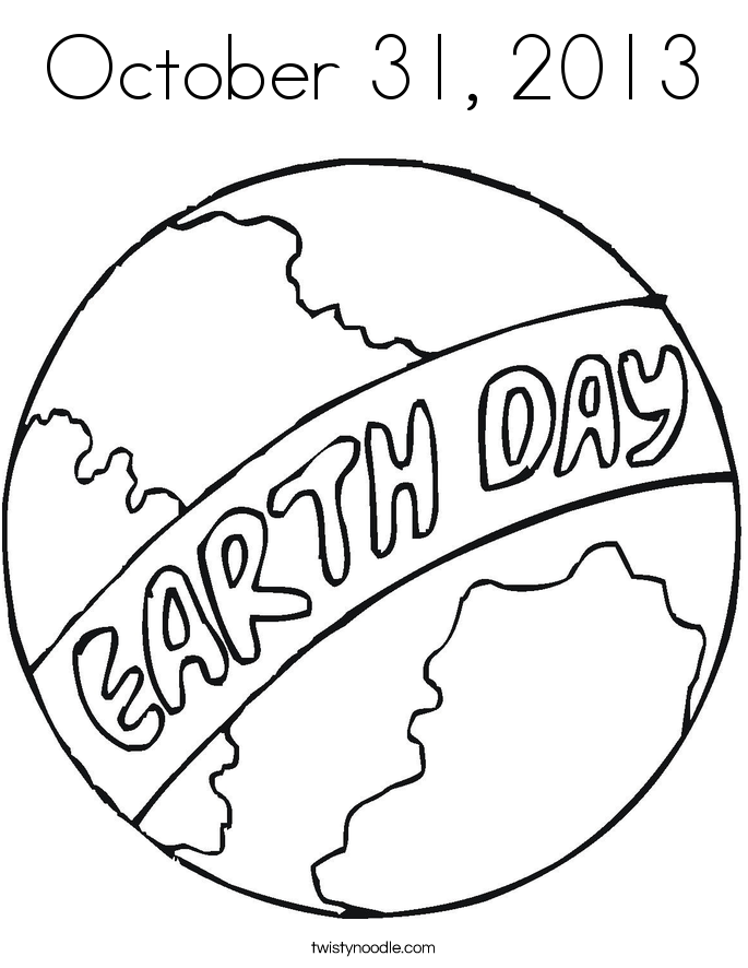 october 31  2013 coloring page