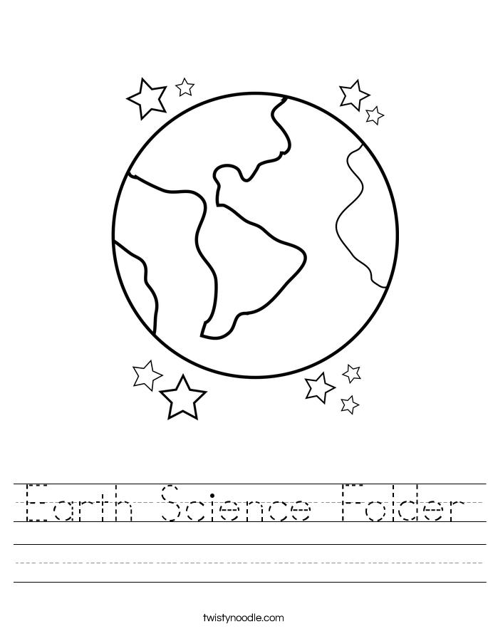 earth science folder worksheet twisty noodle. Black Bedroom Furniture Sets. Home Design Ideas