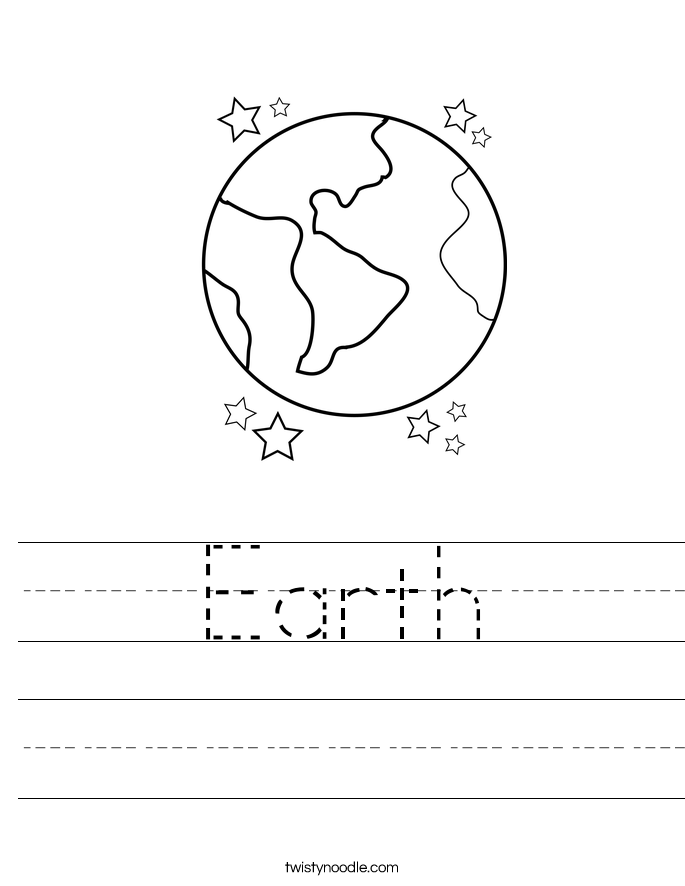 Worksheets Earth Worksheet earth worksheet twisty noodle worksheet