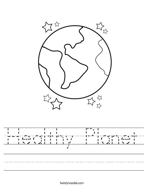Planets of Solar System Worksheet - Turtle Diary