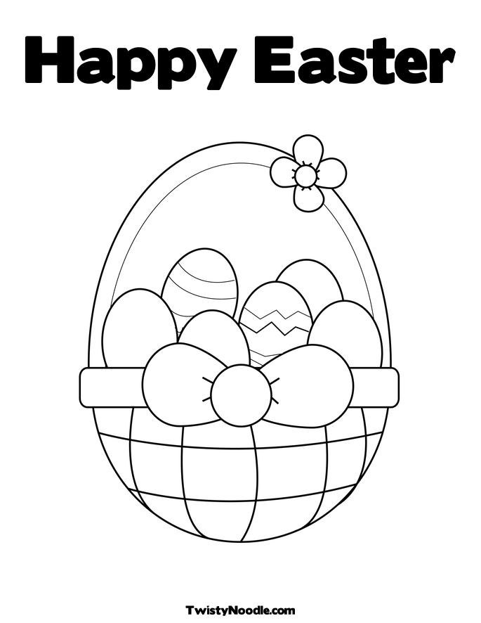 Happy Easter Coloring Pages Quotes