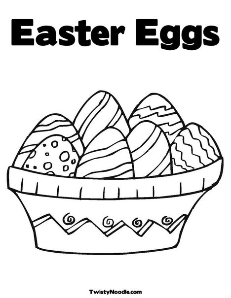 small easter coloring pages - photo#18