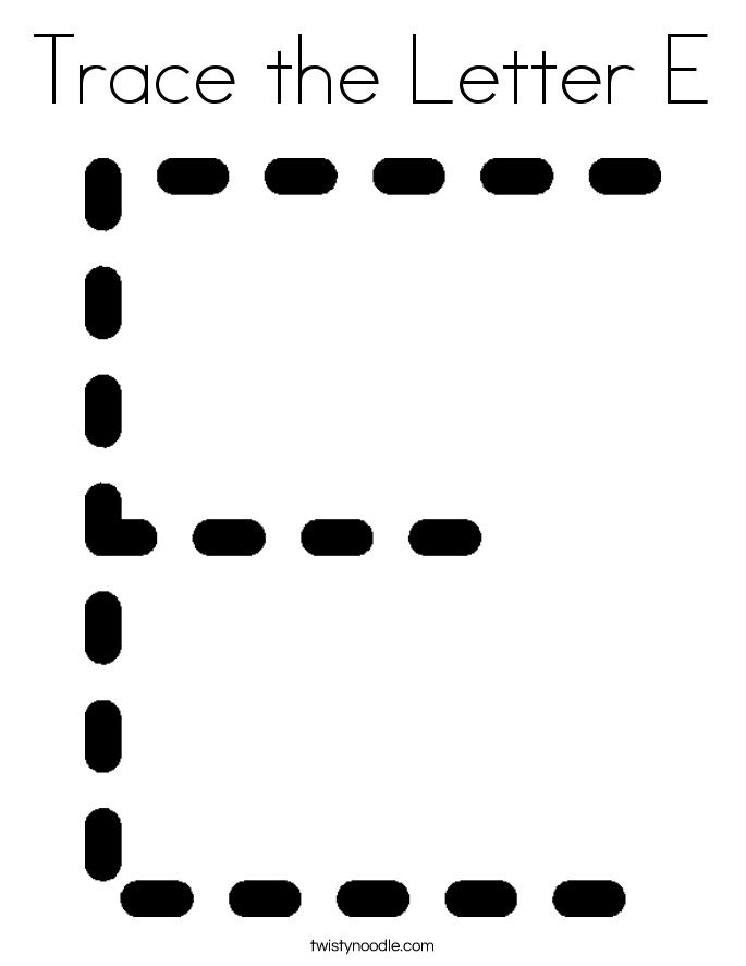 Kindergarten Letter E Writing Practice Worksheet Printable   E is ...