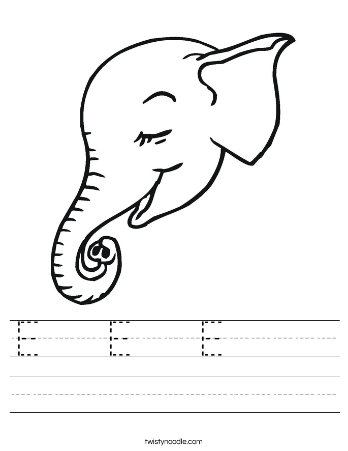 E   E   E      Worksheet