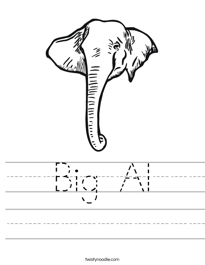 Big Al Worksheet