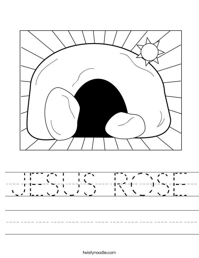 JESUS ROSE Worksheet