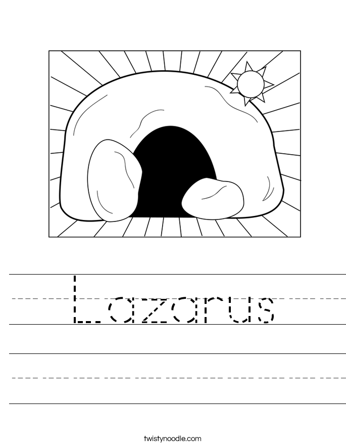 Lazarus Worksheet