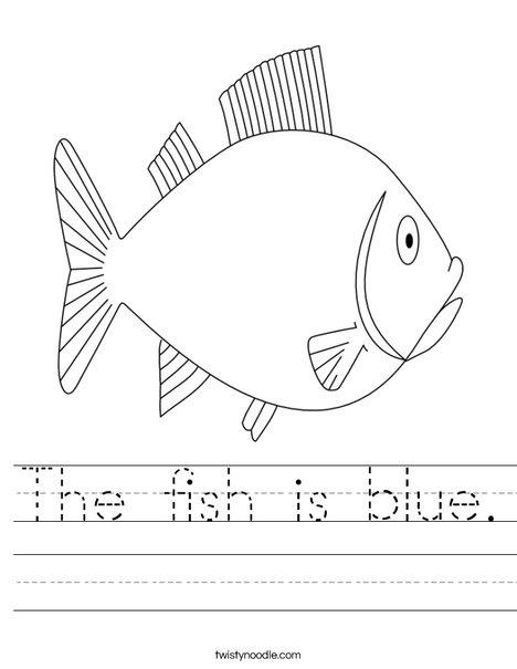 F Is For Fish Worksheet F is for Fish Worksheet