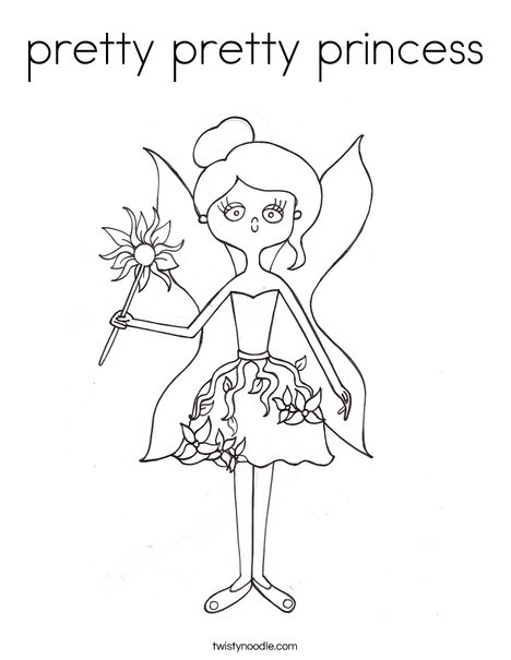 Fairy by melissa coloring page