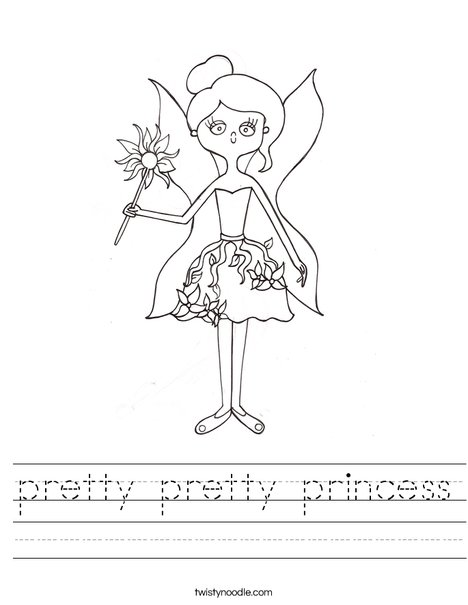 Fairy by Melissa Worksheet
