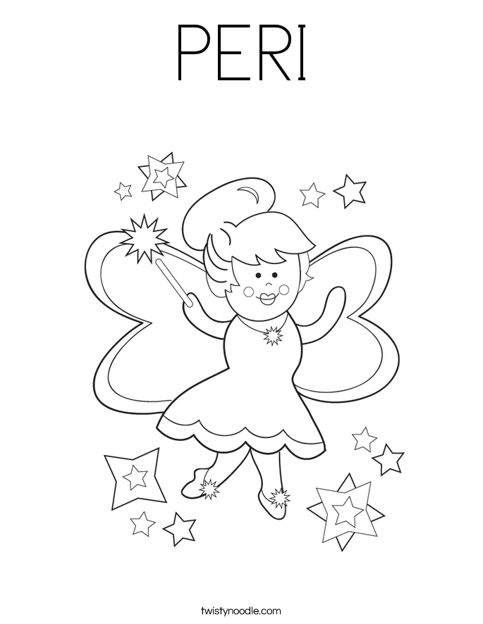 PERI Coloring Page