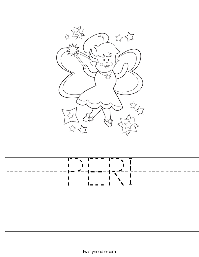 PERI Worksheet