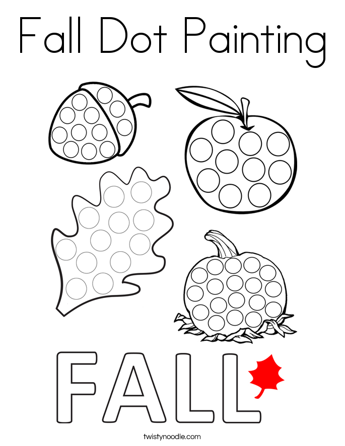 do a dot art coloring pages - dot paint coloring pages coloring page