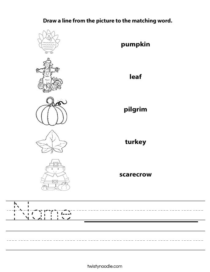 Name __________ Worksheet