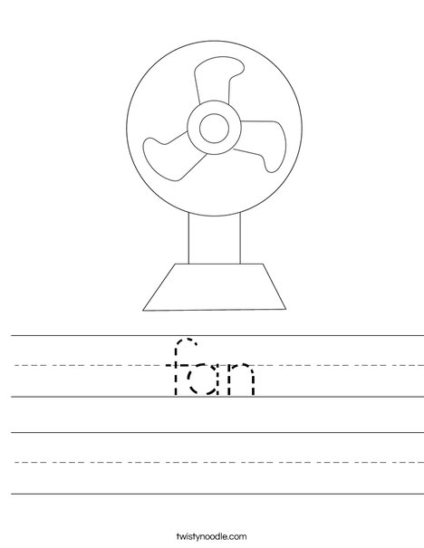 Fan Worksheet