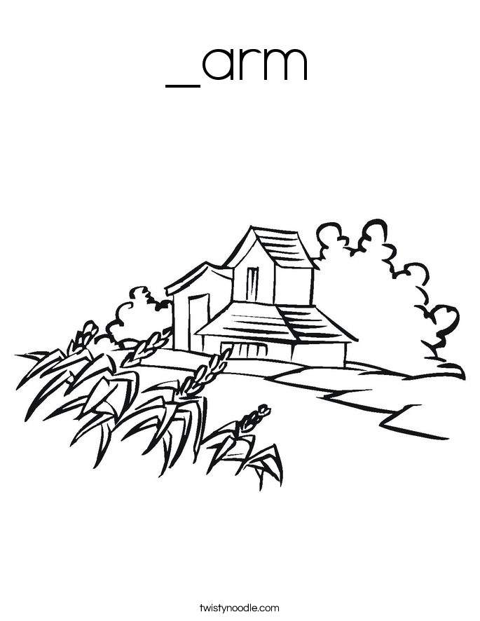 _arm Coloring Page