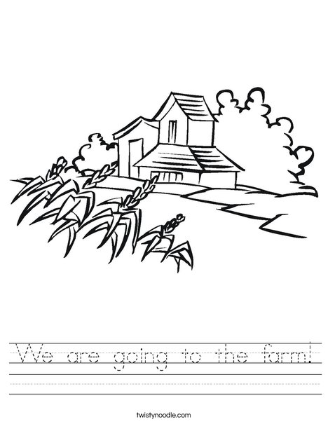 Farm Worksheet