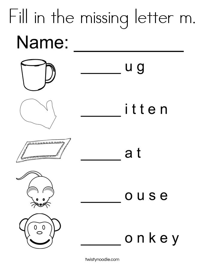 Worksheets For Kindergarten Letter M free kindergarten writing – Letter M Worksheet Kindergarten